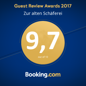 10 von 10 Punkte beim Booking.com Guest Review Award  #guestsloveus